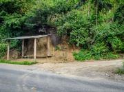 01 Trailhead bus stop Cararango