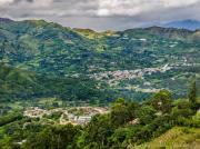 09 View on San Pedro & Vilcabamba from Cararago cruz