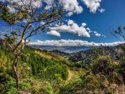 06 View towards Loja from the road to refugio Cajanuma