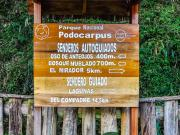 04 Signboard at Refugio Cajanuma