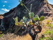 09 The exposed ridge-trail of cerro Mandango