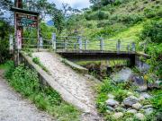 08 Concret bridge Trailhead to El Palto waterfall