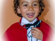 Graduación de la Educación basica de Jorge Fernando
