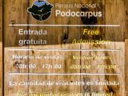 02 Info, PN Podocarpus entrance Bombuscaro