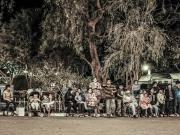 10 Spectators at a night -dance