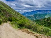 04 Old road Tumianuma-Linderos, View towards Linderos