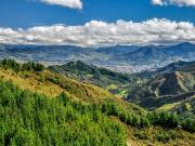 04 View towards Loja from the raod to Cajanuma refugio