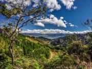 05 View towards Loja from the road to refugio Cajanuma