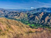 10 View north from Mandango to Cucanama, Vilcabamba-valley