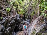 13 Zhane in the Infiernillo, Chichilpamba valley, Masanamaca