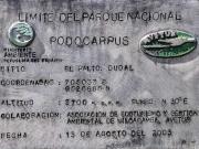 10 Sign at the PN Podocarpus-entrance before reaching Refugio Avetur_
