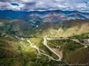 10 Highway near Masanamaca viewed from Sanangui ridge