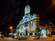 Renovated Church Vilcabamba by Night