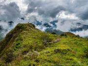 08 Aproaching the top of Cerro Sananangui, 2270m