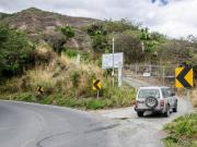 12 Trail end at the Malacatos-Vilcabamba highway