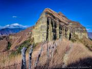 05 The gravel cliff of Mandango