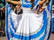 35 Cultural dances, Feriado Reina de las Parroquias