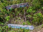 08 Trail fork of the Avetur- & Los Palmas refugios