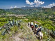 12 Descending towards Vilcabamba from Mollepamba