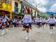 25 Desfile Cívico, 154 Años de Emancipación Política de Vilcabamba, 29 de Mayo 2015