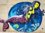 18 Mural in Barrio Izhcailuma, Vilcabamba