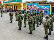 28 Desfile Cívico, 154 Años de Emancipación Política de Vilcabamba, 29 de Mayo 2015
