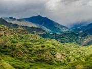 02 Old road, Tumianuma-Linderos, view back to Tumianuma