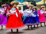 34 Cultural dances, Feriado Reina de las Parroquias