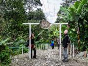 02 Trailhead Rumizhitana, Sendero Ecologico