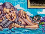 01 Mural, next to restaurant La Esquina