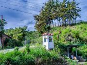 01 Urna & trailhead at Gararango pass