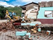Old Vilcabamba torn down