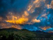 05 Sunset clouds over Podocarpus