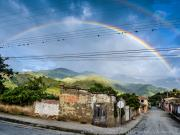 Double rainbow over Vilcabamba