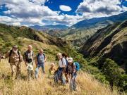 10 Above the  Huallishinuma Valley