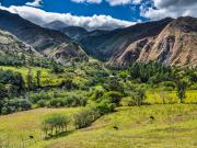 11 Rio Chamba-valley from the canal-trail